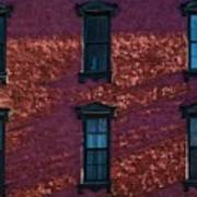 Red Brick Building Nyc Art Print