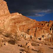 Red Cliffs Natural Preserve Art Print