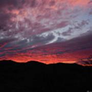 Red Cloud Sunset Art Print