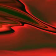 Red Clouds Art Print