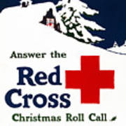 Red Cross Poster, C1915 Art Print