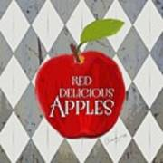 Red Delicious Apples Art Print
