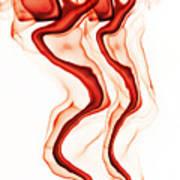 Red Demon Art Print