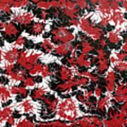 Red Devil U - V1cbs36 Art Print