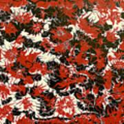 Red Devil U - V1cfs100 Art Print