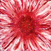 Red Flame Art Print