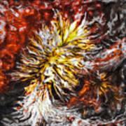 Red Flame Yucca Art Print