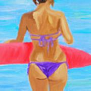 Red Float Art Print