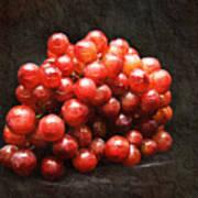 Red Grapes Art Print