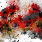Red Hope  Art Print