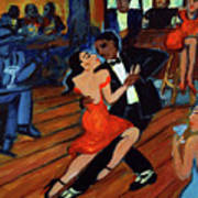 Red Hot Tango Art Print