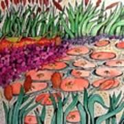Red Lillies 2 Art Print