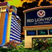 Red Lion Hotel In Spokane Art Print