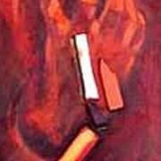 Red Mask Art Print