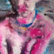 red Molly Art Print