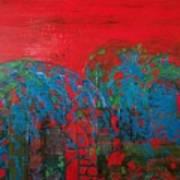 Red Nights Art Print