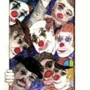 Red Noses Art Print