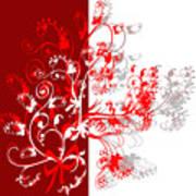 Red Ornament Art Print