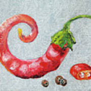 Red Pepper Art Print