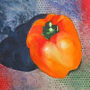 Red Pepper Solo Art Print
