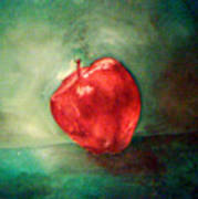 Red Red Apple Art Print