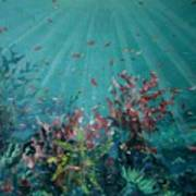 Red Reef  2006   Art Print