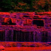 Red River Falls Art Print