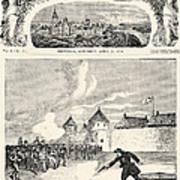 Red River Rebellion, 1870 Art Print