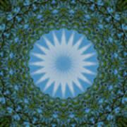 Red River Star Kaleidoscope 2 Art Print