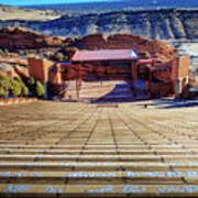 Red Rock Amphitheater Art Print