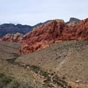 Red Rock Canyon 1 Art Print