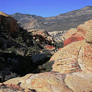 Red Rock Canyon Nv 7 Art Print