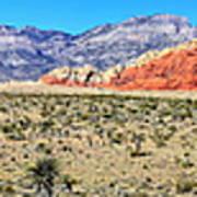 Red Rock Canyon Panorama Art Print