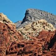 Red Rock Canyon Vista Nevada Art Print