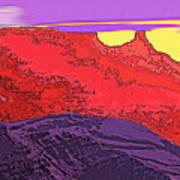 Red Rock Country - Southeastern Utah Art Print