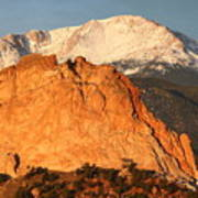 Red Rock Art Print by Eric Glaser