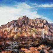 Red Rock IIi Art Print