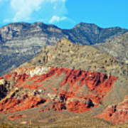 Red Rocks Nevada Art Print