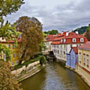 Red Roofs Of Prague Art Print