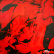 Red Series No. 1 Art Print