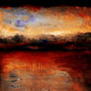 Red Skies At Night Art Print