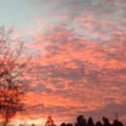 Red Skies Art Print