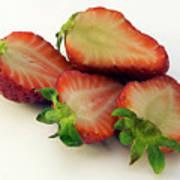 Red Strawberry Art Print