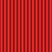 Red Striped Pattern Design Art Print