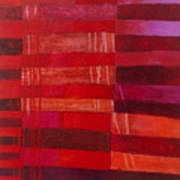 Red Stripes 2 Art Print