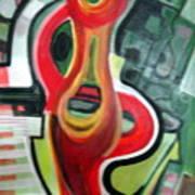 Red Symbol Art Print