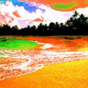 Red Tide Green Tide Art Print