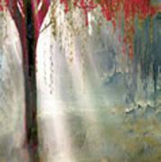 Red Tree 1  Art Print