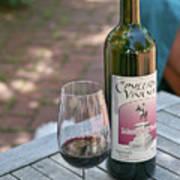 Red Wine Nectar Art Print