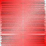Red.4 Art Print